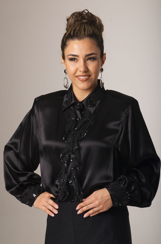 Dress Blouse Plus Size