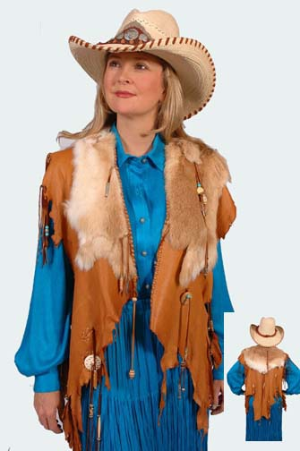 South Western Deer Skin Hand Made Cape (4 weeks to ship). #AE0043WF