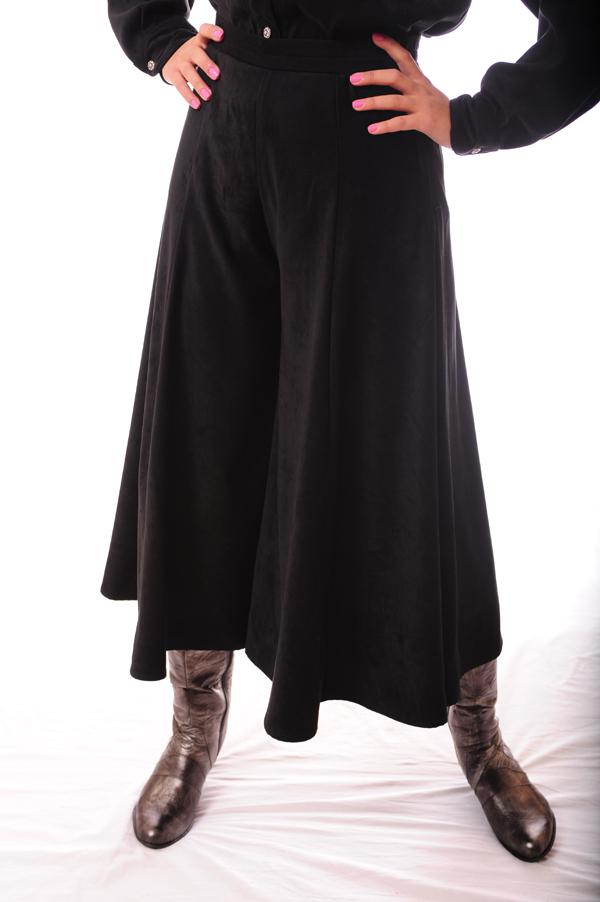 westernwomenwear - western women tobacco color gaucho