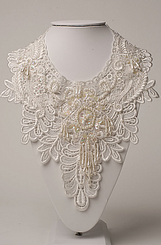 Bridal Venetian Lace Neck Jewelry (3 days to ship). #NCK12 [Limited Edition]
