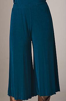 Sexy Split Pants in Teal. #1411GJ
