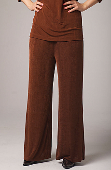 Copper Color Palazzo Pants. #1006