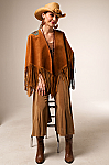 Southwestern One of A Kind Suede Overlay. #AE0129CP