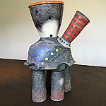 Flame Job - Ceramic Sculpture