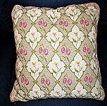Hand crafted Needlepoint Pillow 18 x 18
