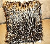 Faux Fur Pillow 18 x 18 Pillow - Grey