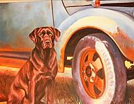 Man's Best Friend - Wall Art. 24H x 36 W