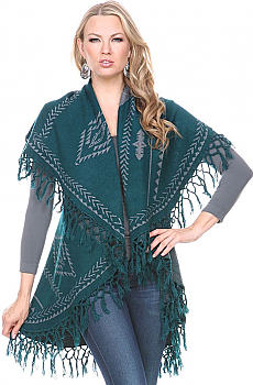 Aztec Double Layer Cape (7 Days to Ship). #Cape2345MG