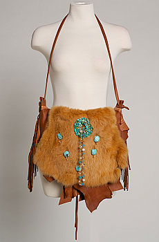 Deer Skin handbag One of a Kind (4 weeks to ship) #HB1000-16