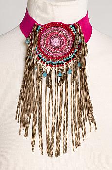Southwestern Style Beaded Chocker #NCK1001-17 [Limited Edition]
