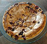 Sour Cream Triple Berry Pie