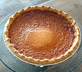 Honey Buttermilk Pie